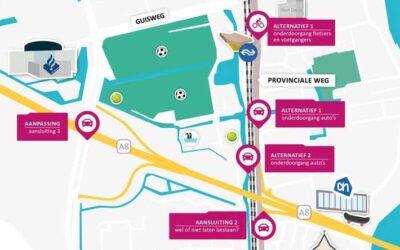 Twee opties project Guisweg